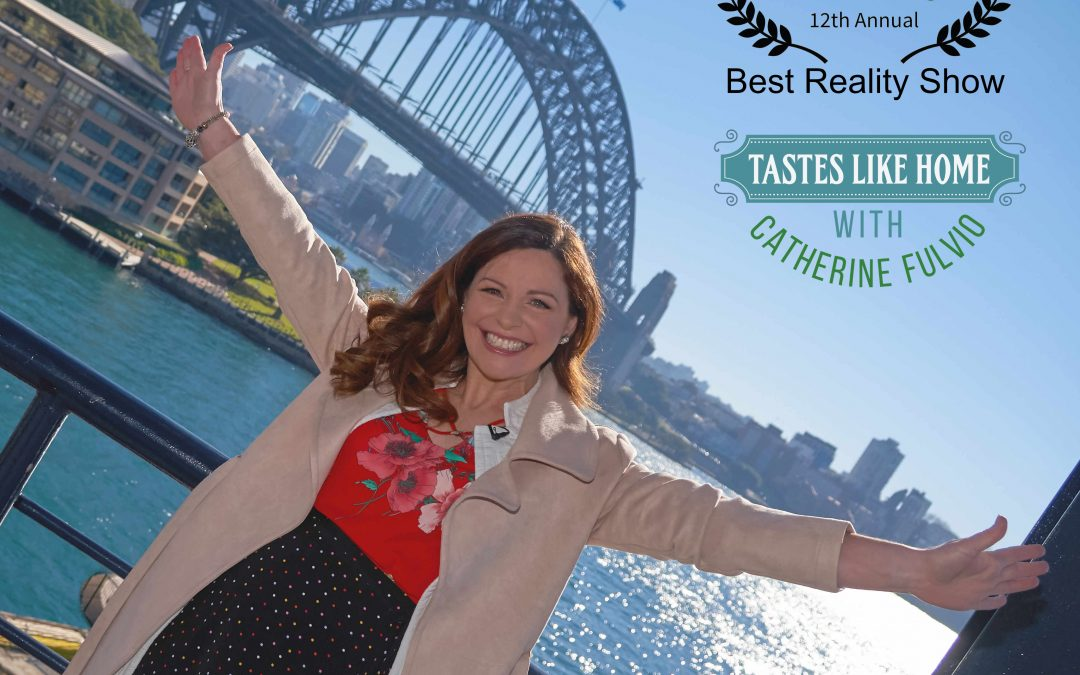 Tastes Likes Home with Catherine Fulvio Comes Out Tops at THE 2021 TASTE AWARDS